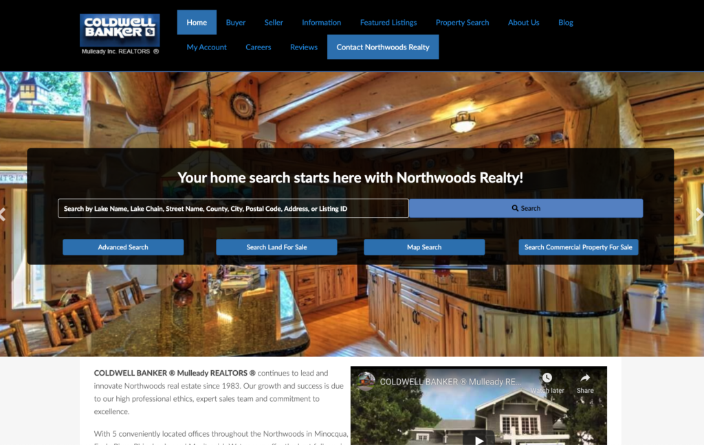 Northwoods Realty Coldwell Banker Mulleady REALTORS