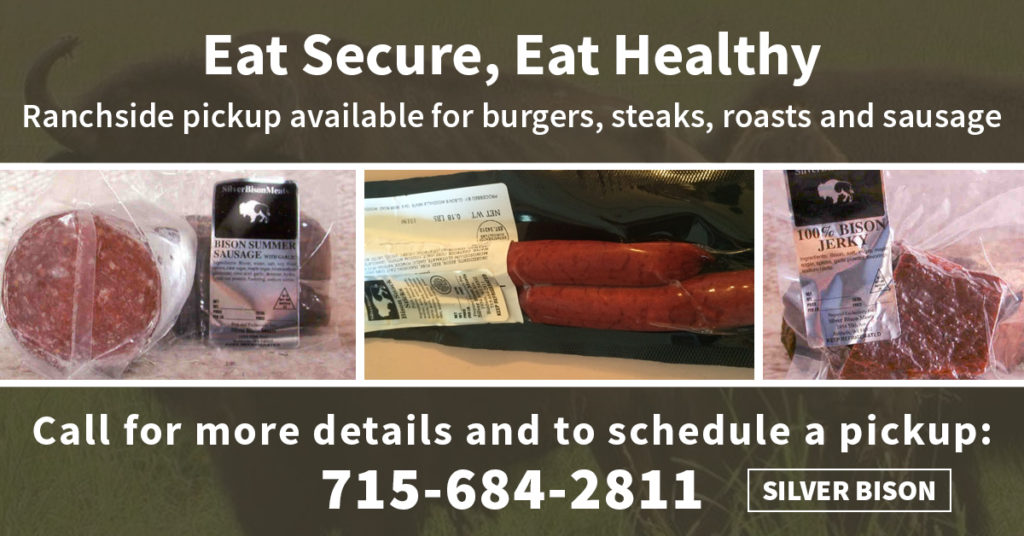 Eat Healthy with Silver Bison Ranch